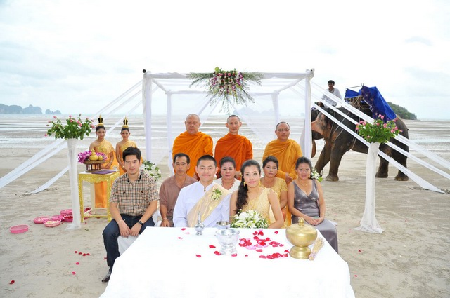 Elephant Beach Thai Ceremony