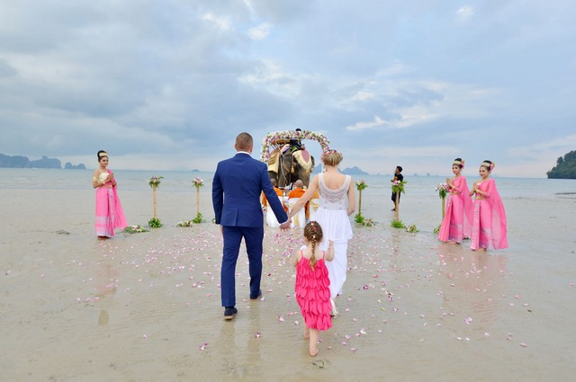 Elephant Beach Ceremony
